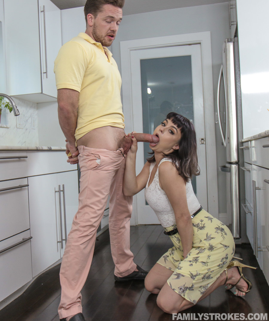 Dad Daughter Family Strokes