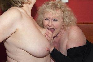 Granny lesbian sex claire