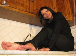 European pretty feet