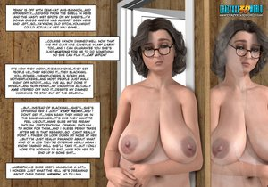 Big-titted naked mom fun