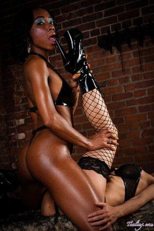 Asian hottie black lingerie