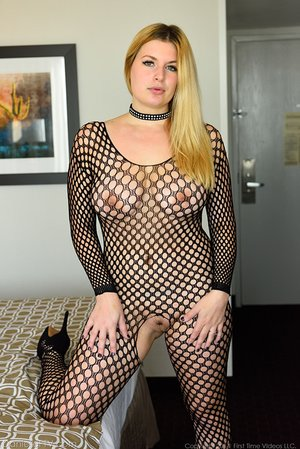 Busty amateur blonde wife