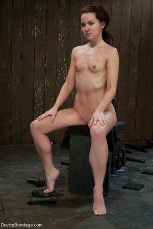 Slim gal small tits
