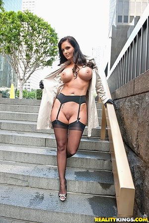 American gorgeous sexy brunette milf