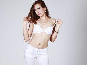 White girl small tits