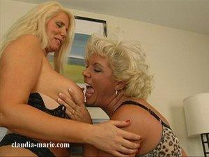 Blonde bbw lesbians dressed