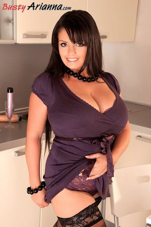Thick milf kitchen