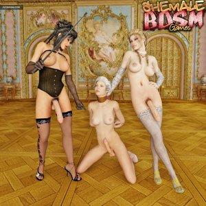 Glamorous shemales pounding sensual