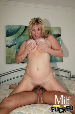 Hot chubby angel with blonde hair is fucking hard and wild in bedroom