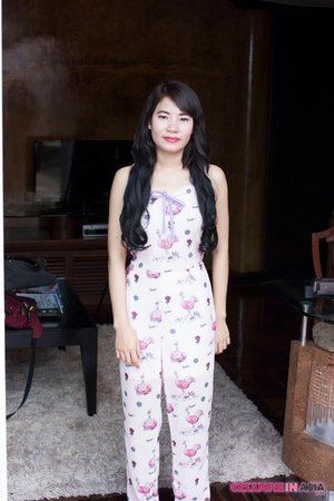 Thai asian outdoor sex