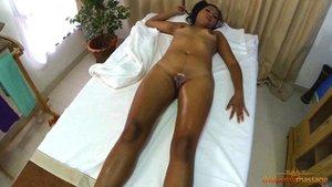 Slim asian oil massage