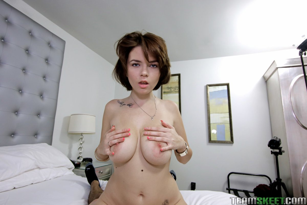 Short Hair Brunette Teen Pov