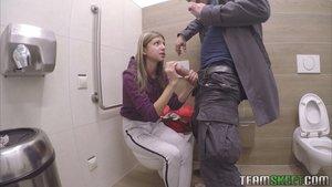 Russian blonde teen pov fuck