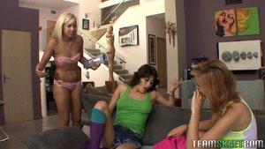 Black hair cute young lesbians