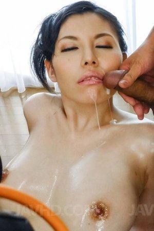 Sofia Takigawa fucking hairy pussy