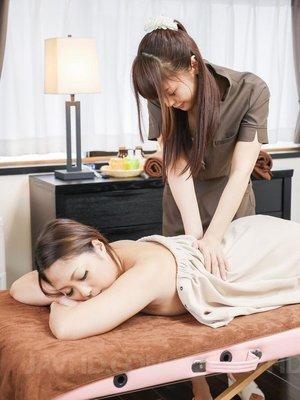 Japanese asian oil massage