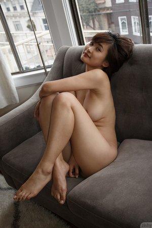 Japanese asian model