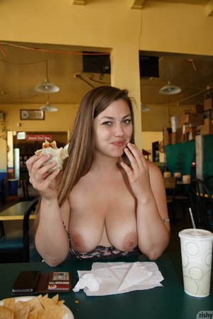 Amateur flashing restaurant