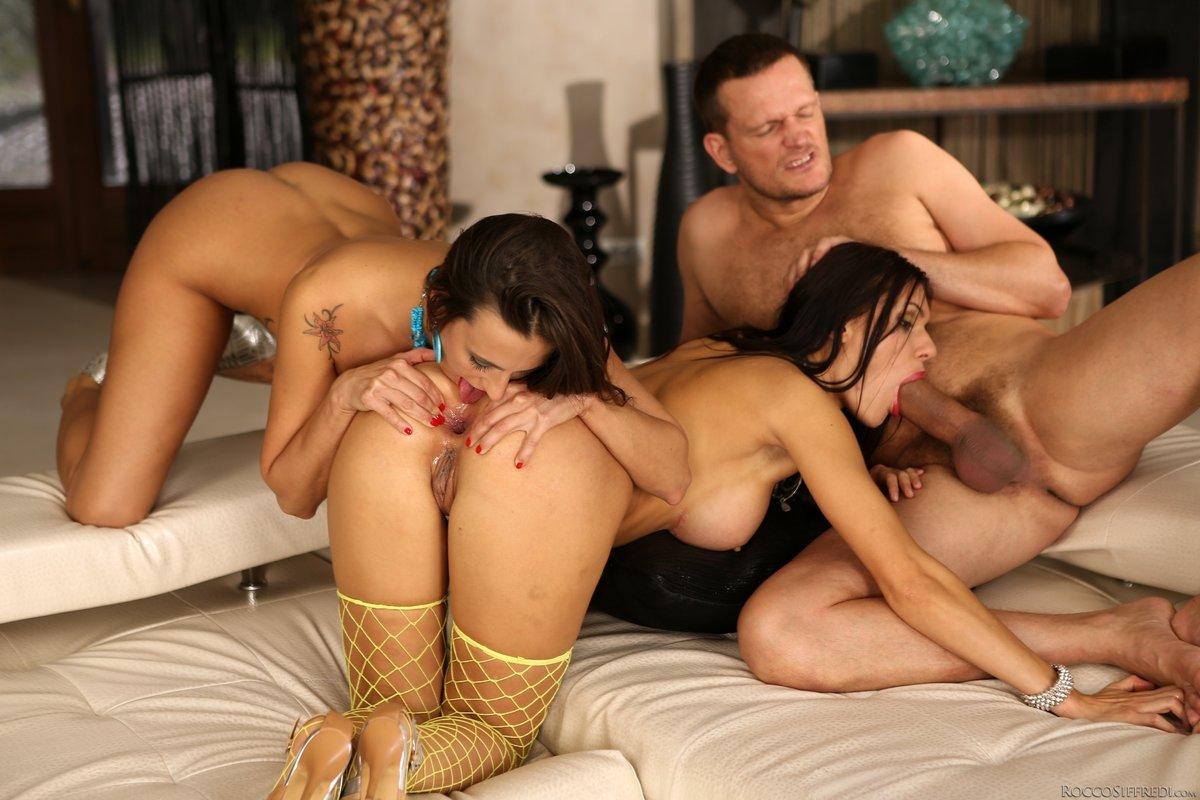 Hillary Scott Anal Threesome