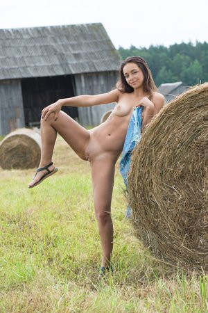 Belarusian brunette
