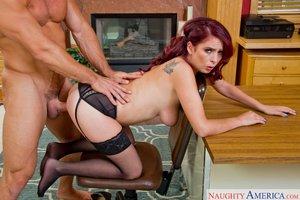 Redhead naughty pussy