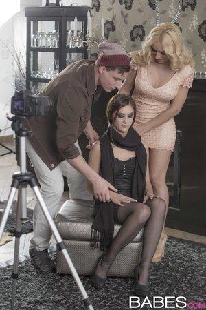 Hd german threesome stockings