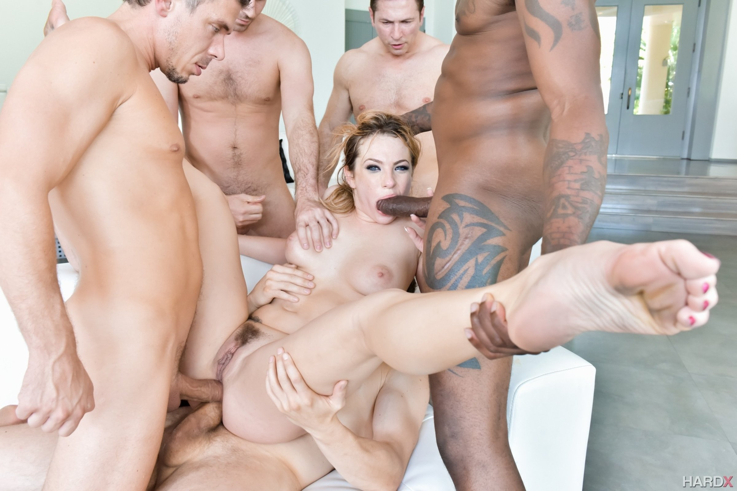 Group hard sex — 4