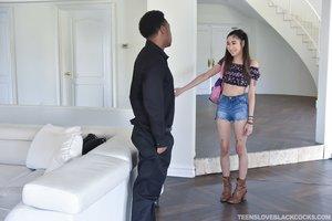 Interracial asian american teen