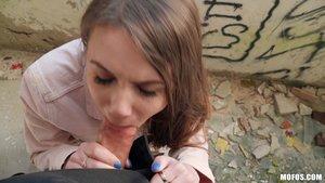 Ukrainian brunette teen pov