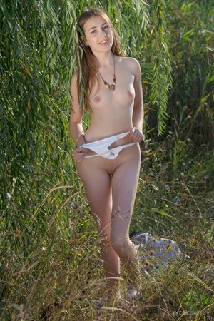 Erotic nude model