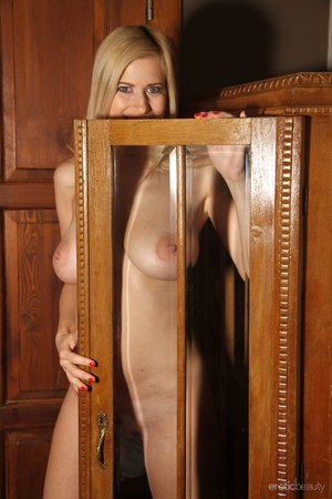 Erotic blonde milf