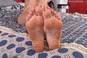 Teen american feet