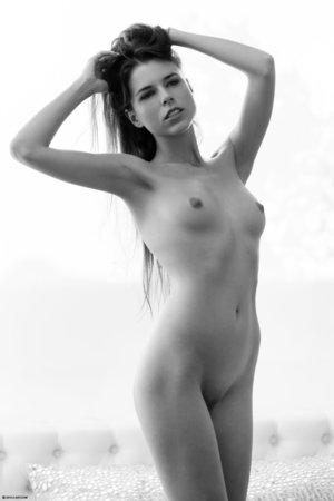 Ukrainian brunette babe
