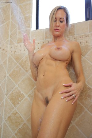 Mature shower