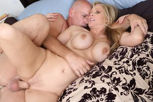 Mature blonde girlfriend