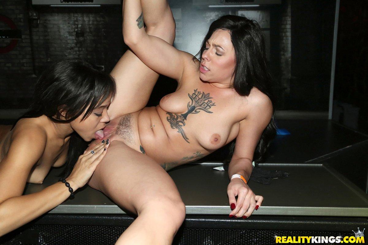 Latina lesbian orgy