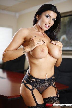 Sexy slut black hair