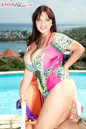 Brunette goddess big tits