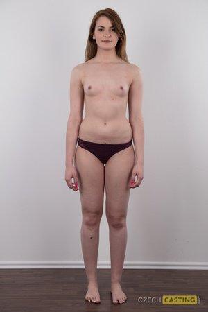 Czech model first casting