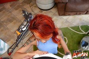 Asian pov redhead