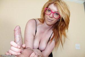 Big tits sensual massage