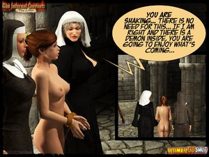Kidnapped tortured busty nuns