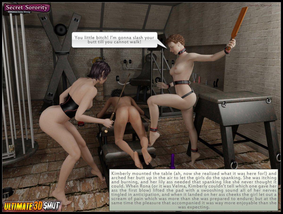 bondage initiation sorority