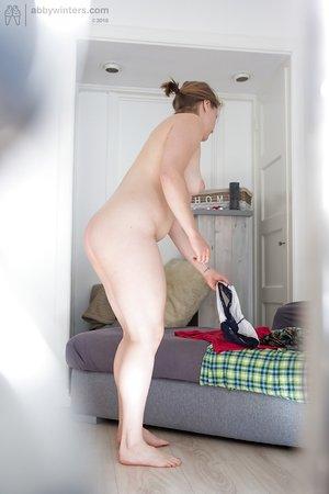 Hungarian natural chubby moms