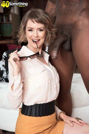 Interracial british housewife